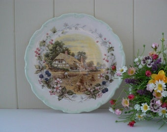 Royal Albert vintage 1984 Autumn Cottage garden series