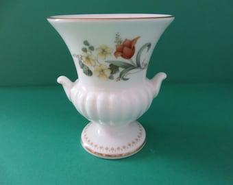 Wedgwood vintage 1980's Mirabelle urn vase