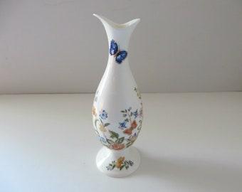 Aynsley vintage 1970's  Wild Tudor bud vase