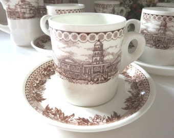 Wedgwood vintage 1980's Venetian coffee cup and saucer