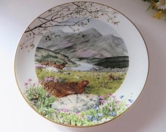 Royal Worcester vintage 1979 September decorative plate