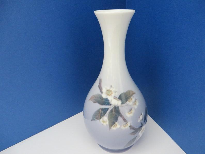 Royal Copenhagen vintage 1960/'s  blue floral vase