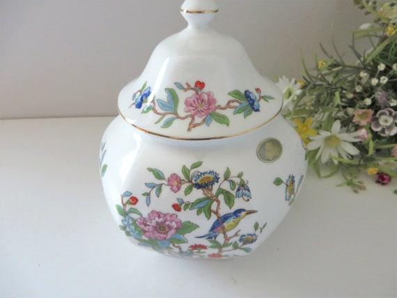 Aynsley vintage Pembroke 1960's large Ginger jar