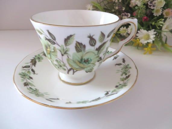 Colclough vintage 1960's Sedgley teacup and saucer