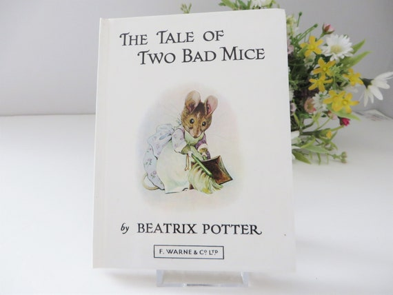 Beatrix Potter 1984 Tale of two bad mice vintage book