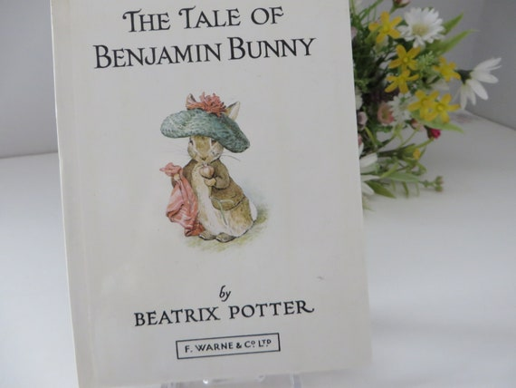 Beatrix Potter 1983 Tale of Benjamin Bunny vintage book