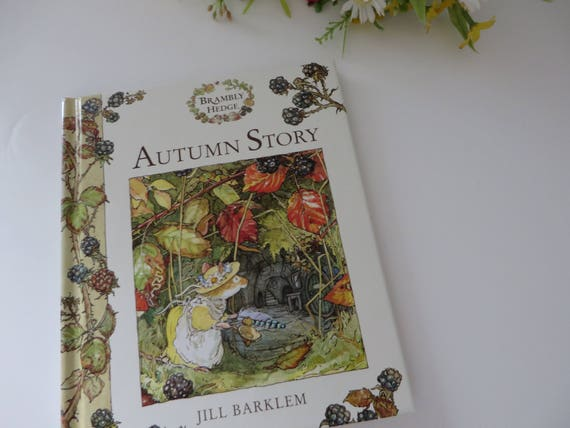 Brambly Hedge  Autumn story  book
