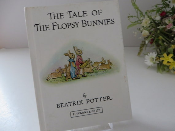 Beatrix Potter 1984 Tale of the Flopsy Bunnies vintage book