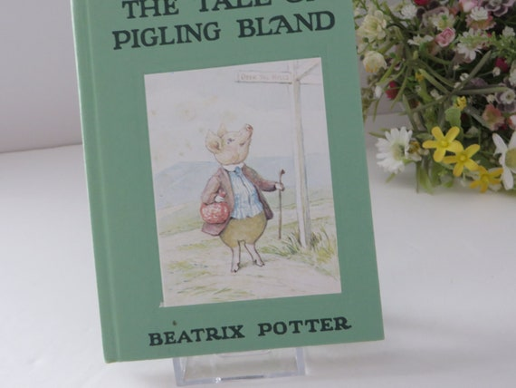 Beatrix Potter 1981 the tale of Pigling Bland vintage book