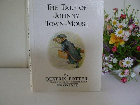 Beatrix Potter 1985 Tale of Johnny Town Mouse vintage book