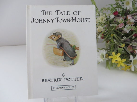 Beatrix Potter 1984 Tale of Johnny Townmouse vintage book