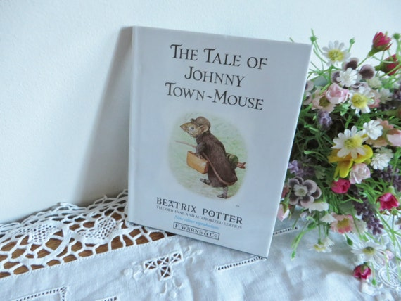 Beatrix Potter 1995 vintage Tale of Johnny Town Mouse book