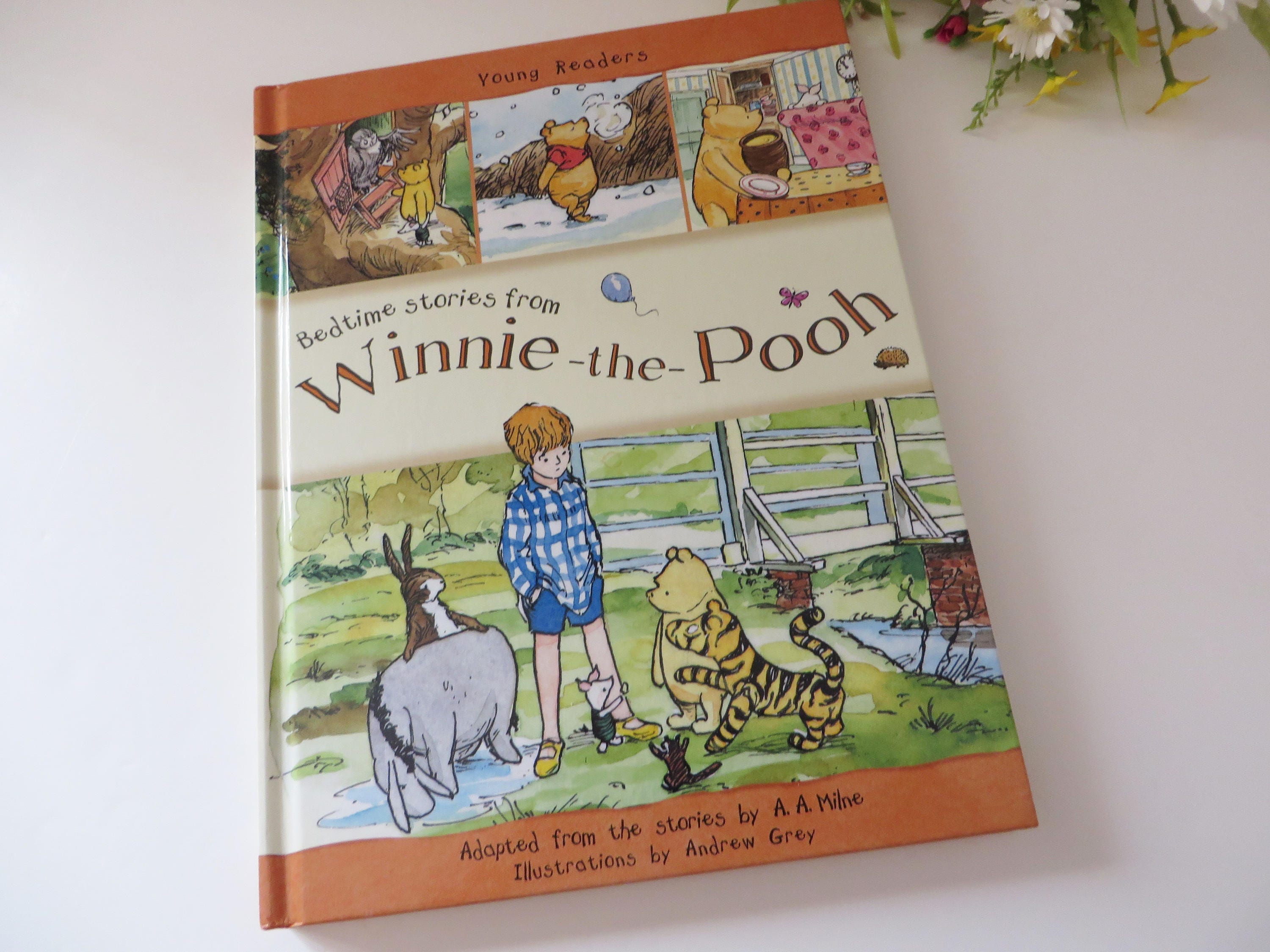 Winnie the Pooh Bedtime stories book