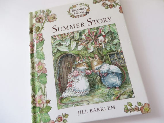 Brambly Hedge Summer story  book