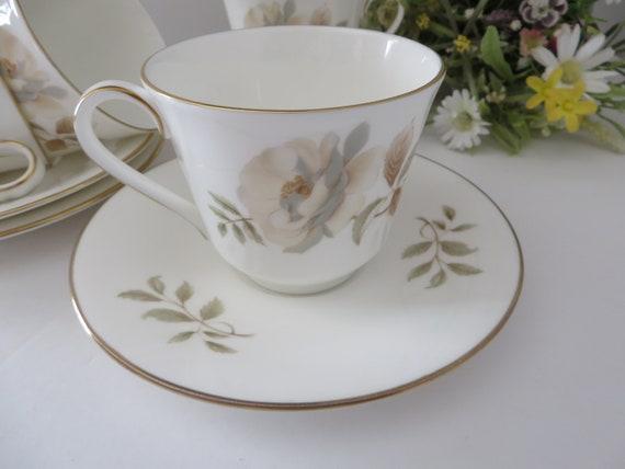 Royal Doulton  vintage 1970's Yorkshire Rose teacup and saucer