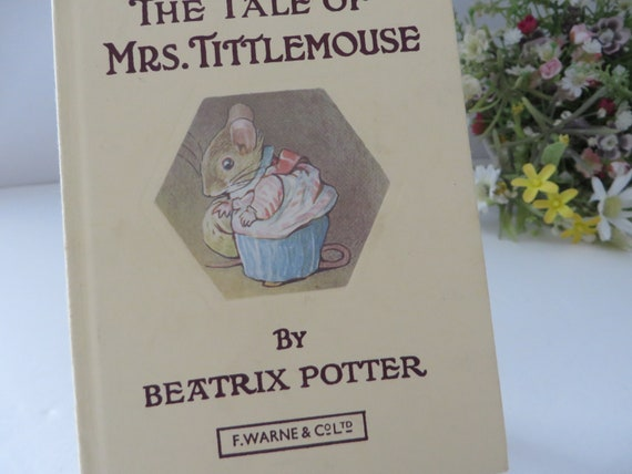 Beatrix Potter 1979 The Tale of Mrs Tittlemouse vintage book