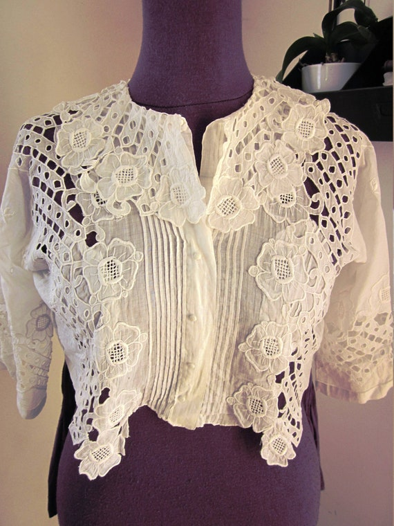 Edwardian blouse 1900