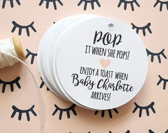 Pop It When She Pops Baby Shower Favour Tag (36)