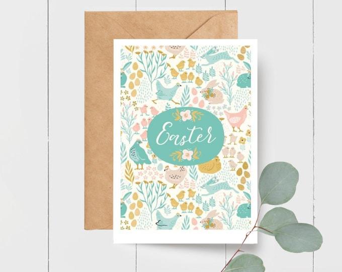 Cute Easter Greeting Card