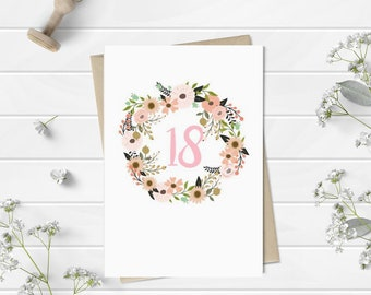 Age Happy Birthday Card for Her