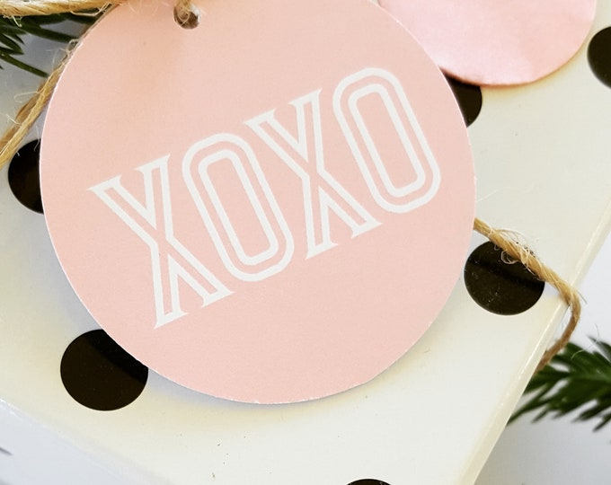 Valentines Day XOXO Gift Tags (12)