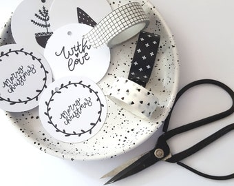 Scandi Style Merry Christmas Gift Tags (12)
