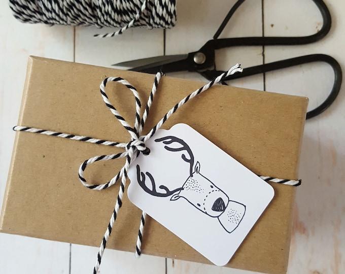 Cute Christmas Reindeer Gift Tags (12)