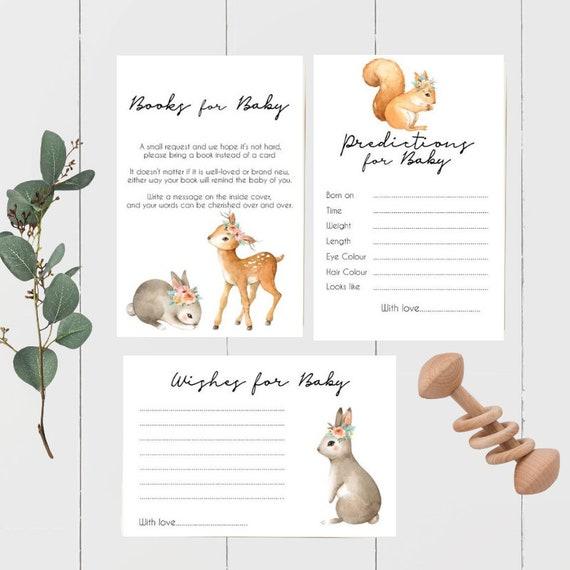 Woodland Animal Baby Shower Bundle