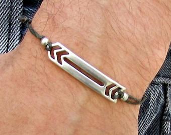 Arrow Mens Bracelet Anklet Women Bracelet Anklet Adjustable