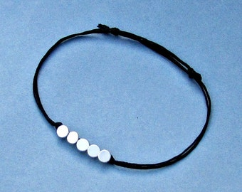 Geometric Mens Bracelet Anklet Women Bracelet Anklet Beach Summer Anklet skinny Bracelet Anklet Adjustable