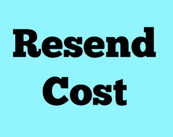 Reserved For Catherine Resend Cost