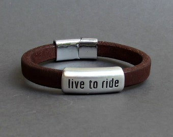 Inspirational Mantra Cuff Bracelet, Quote bracelet, Leather Bracelet