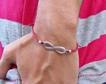 Infinity Mens Bracelet Anklet Women Bracelet Anklet Adjustable