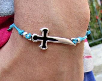 Sword Mens Bracelet Anklet Women Bracelet Anklet Adjustable