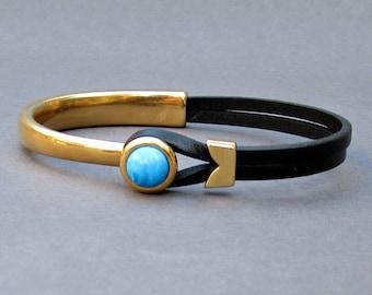 Mens gemstone bracelet