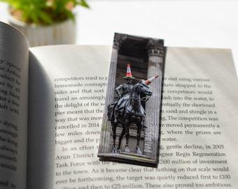 Glasgow Duke of Wellington Statue Magnetic Bookmarks   Street Photography