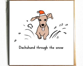 Dog Christmas Puns.Thanks Furry Much Funny Cute Dog Pun Thank You Card Etsy