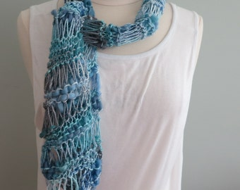 Knitting Pattern For Bamboo Bloom Yarn Infinity Scarf Cowl Etsy