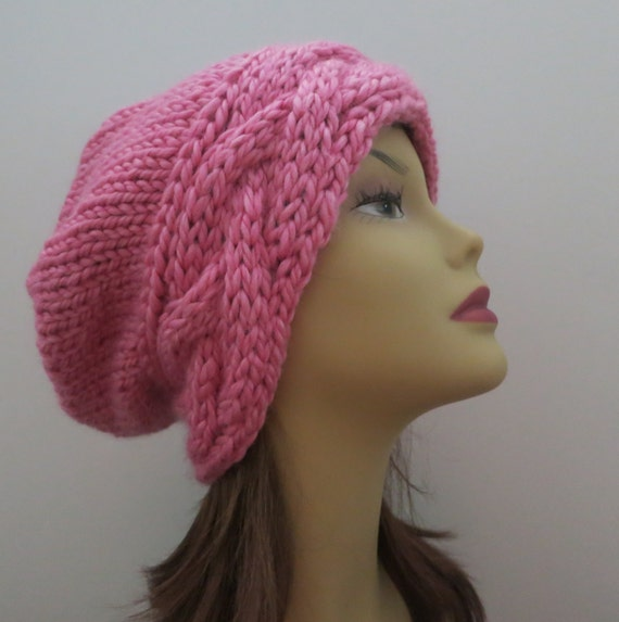 a269f56acc7 PDF 162 Knitting Hat Pattern The Roxy Slouch Hat Slouchy