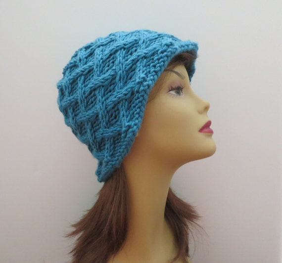 Knitting Hat Pattern Pdf 178 The Bristol Toqueteen And Adult Etsy