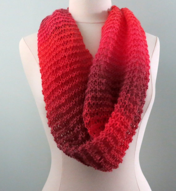 Beginner Scarf Knitting Pattern For Three Scarves Etsy