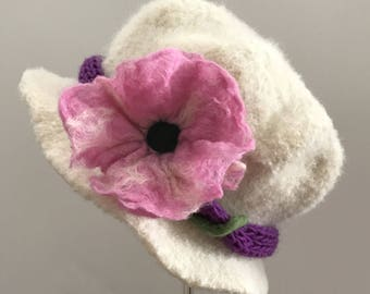 Felted Cloche The Jilly Hat