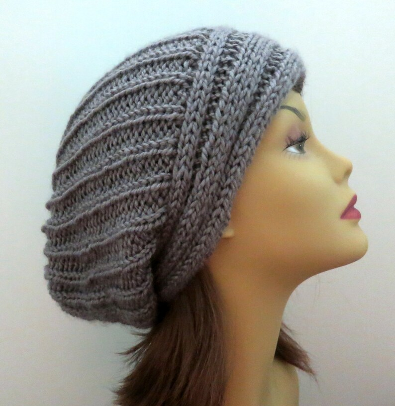 15d698f0e6e PDF 163 Knitting Hat Pattern The Yvette Slouch Hat Slouchy