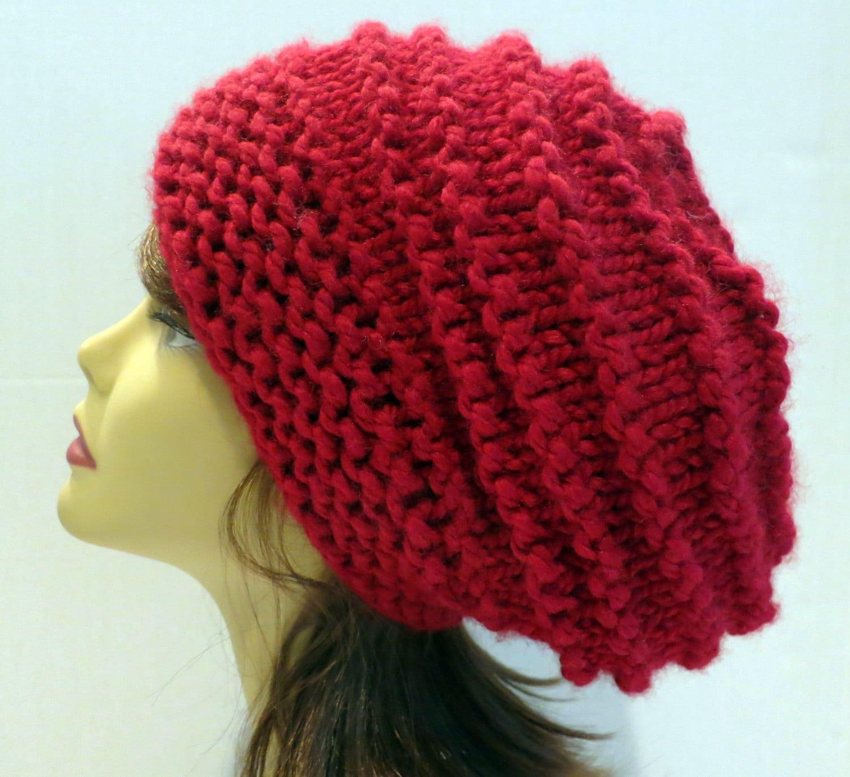 f73591adb0d PDF 144 Pattern Knit Hat Knitting Chunky Women Hat Slouchy