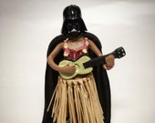 HulaTroopers - Darth Vader Dashboard Hula Girl with adhesive bottom 4.5in height Star Wars Hula