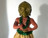 C3P0 Hula Boy with adhesive bottom 5.25in height