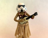 HulaTroopers - Classic Stormtrooper Hula Girl with adhesive bottom 4.5in height