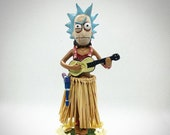 Evil Rick (from Rick Morty) Dashboard Hula (4.5 quot height)