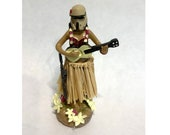 Scarif Stormtrooper Dashboard Hula Girl adhesive bottom 4.5in height