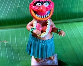 Animal Muppets HulaTrooper Dashboard Hula Girl with adhesive bottom (4in height)